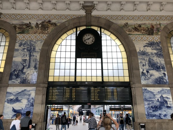 ポルト サンベント駅