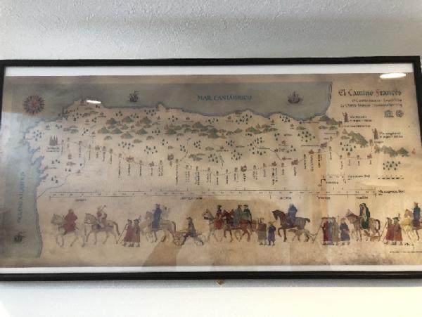 カミーノ地図