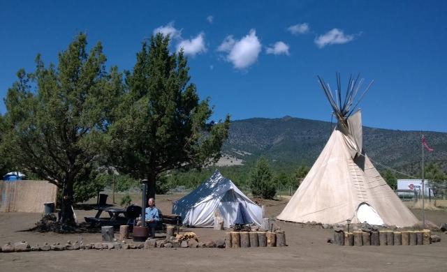 camp setting