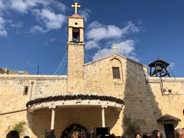 ギリシャ受胎告知正教会2
